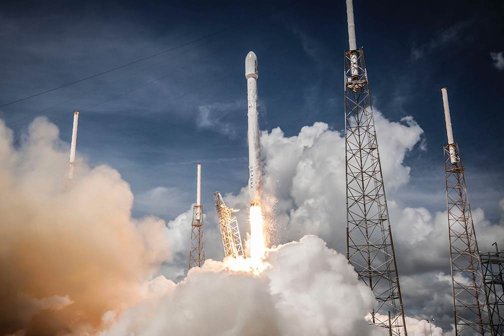 SpaceX Falcon 9, Cape Canaveral Air Force Station, Florida