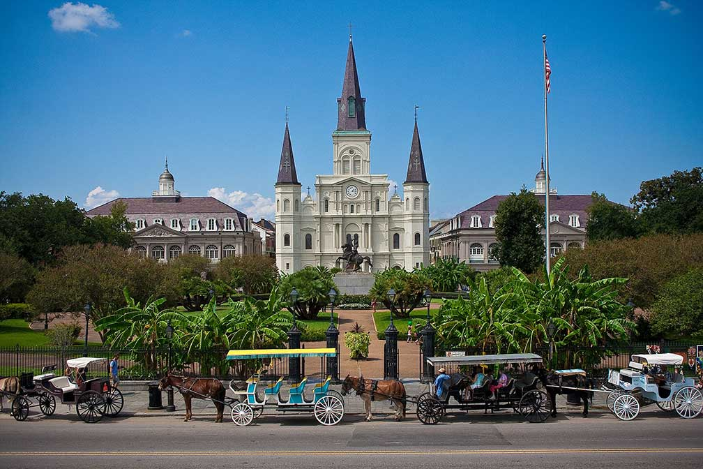 cathedral basilica of saint louis new orleans state of louisiana