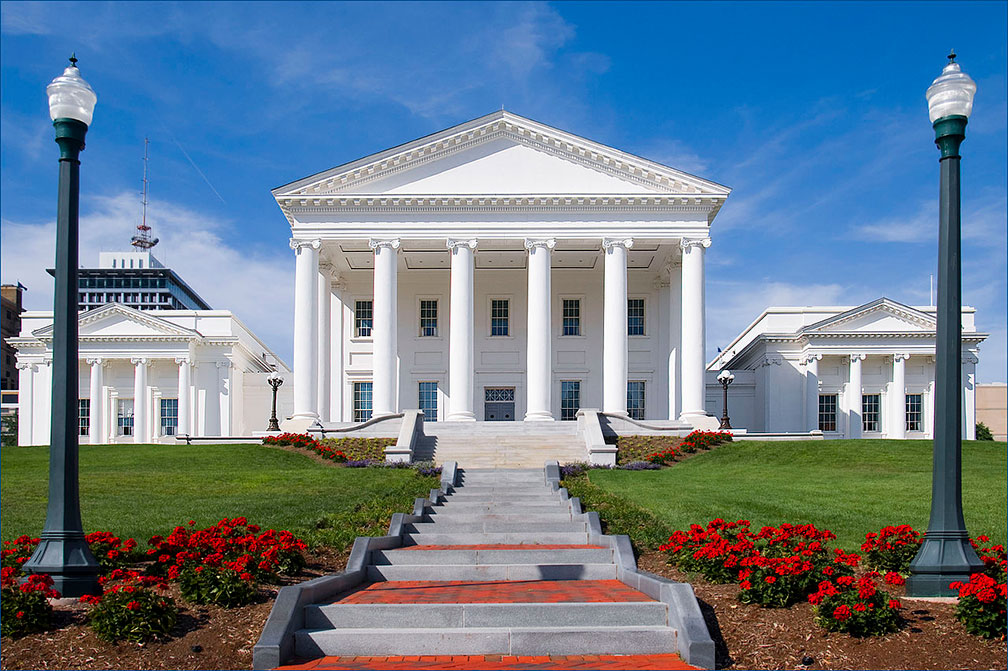 State Capitol of the Commonwealth of Virginia in Richmond
