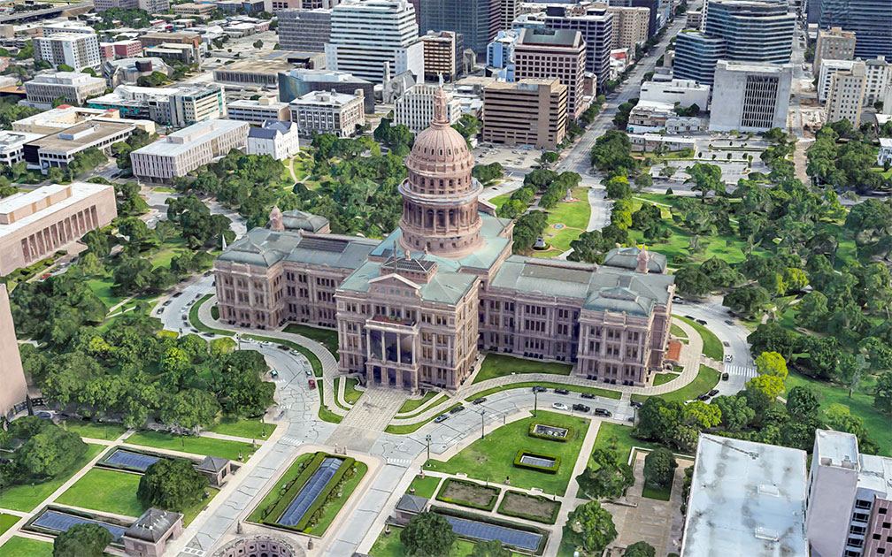 Texas State Capitol in Austin, Texas