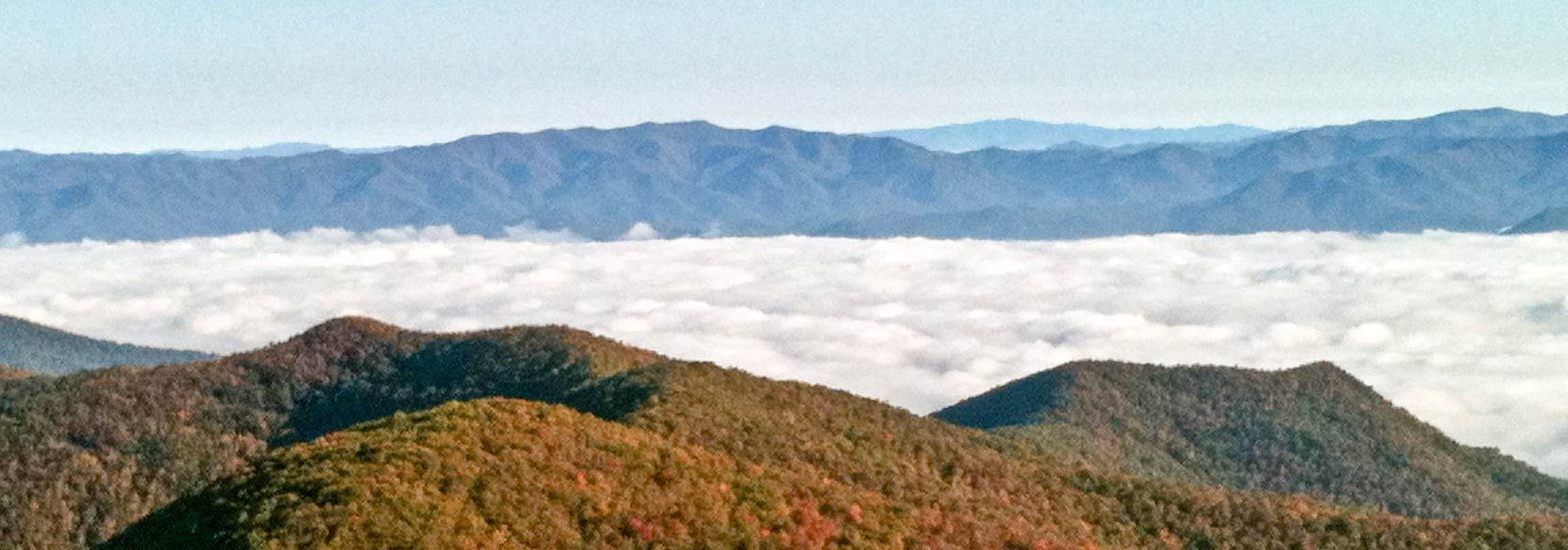 Chattahoochee National Forest, view from Brasstown Bald Mountain