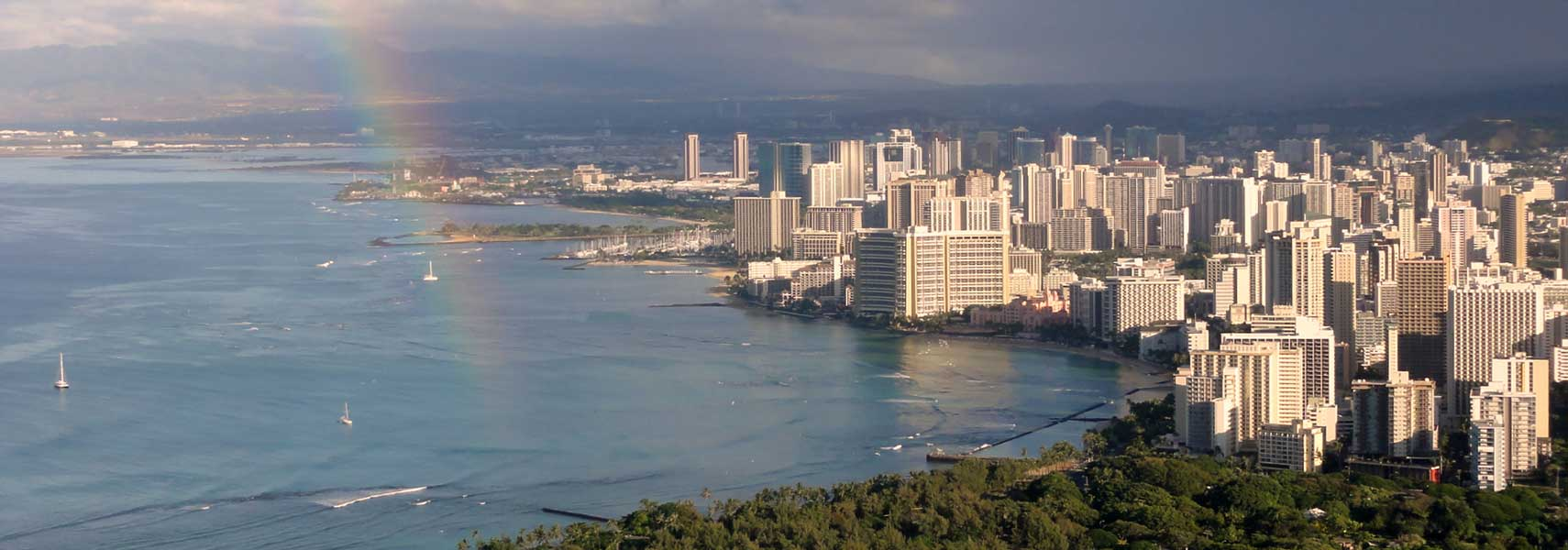 Google Map Of Honolulu Hawaii USA Nations Online Project - Hawaii map usa states