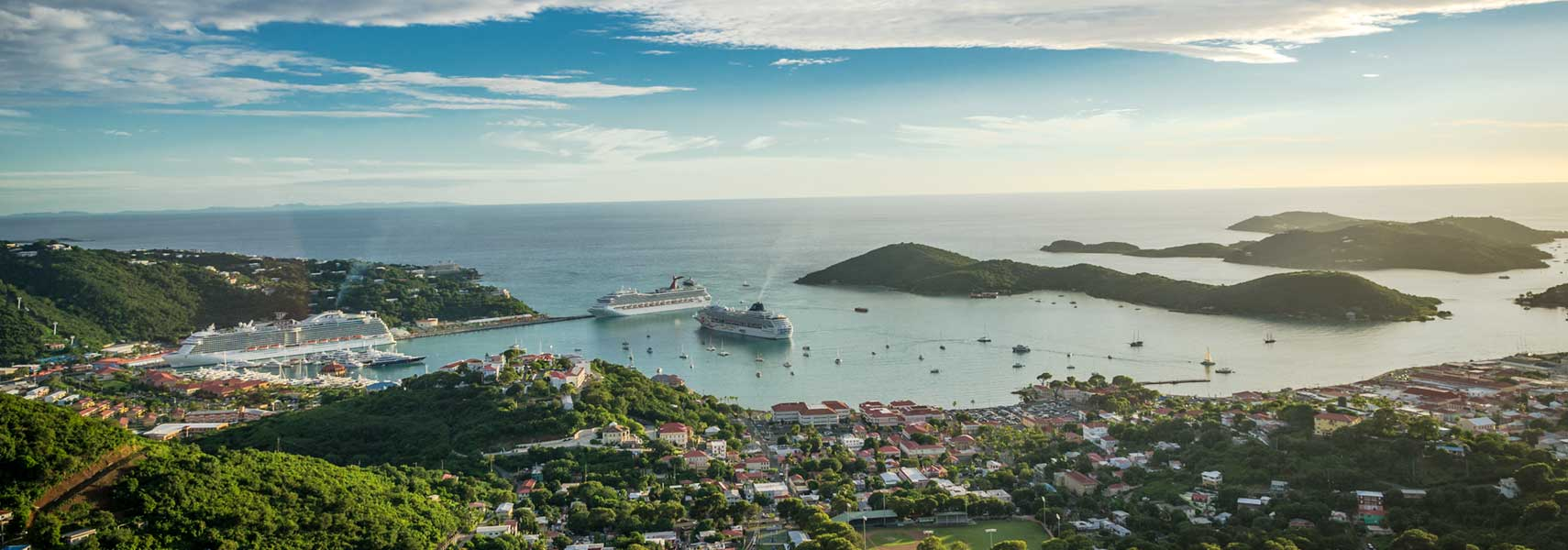 Us virgin islands st thomas st croix st john nations online view of the islands of st thomas us virgin islands sciox Choice Image