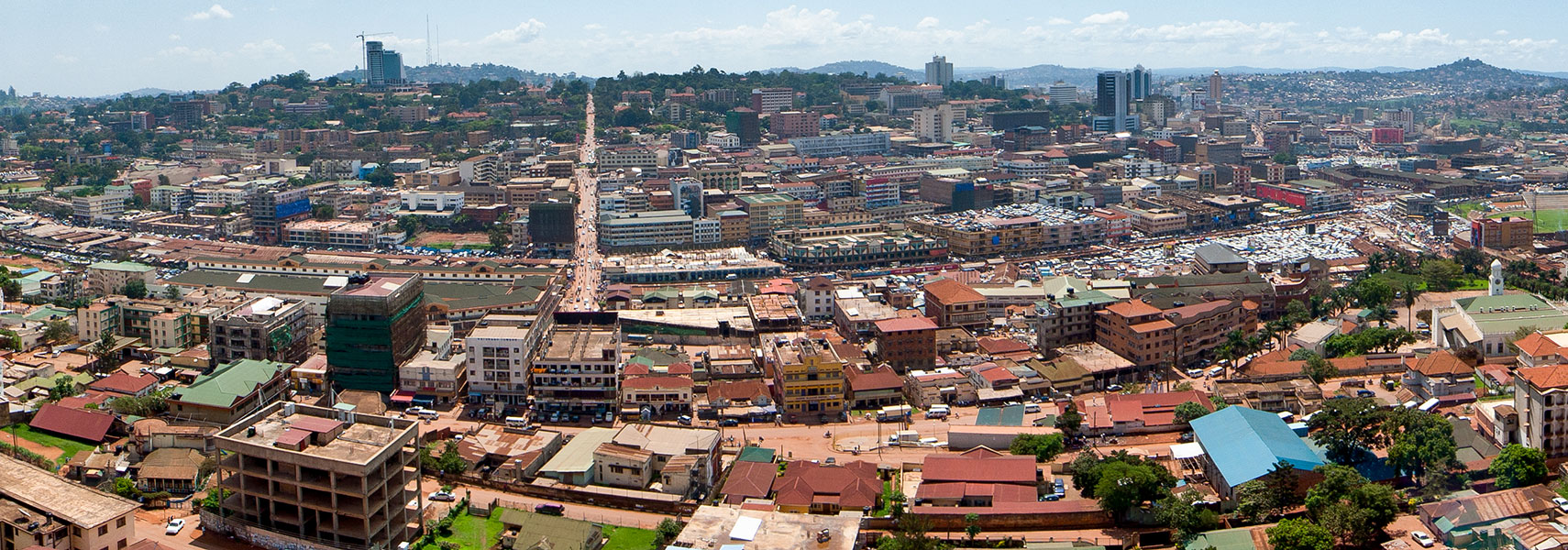 ___ satellite view and map of the city of kampala uganda