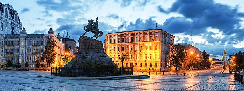 Google Map of Kiev  Ukraine  Nations Online Project