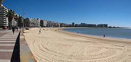 Montevideo's beach