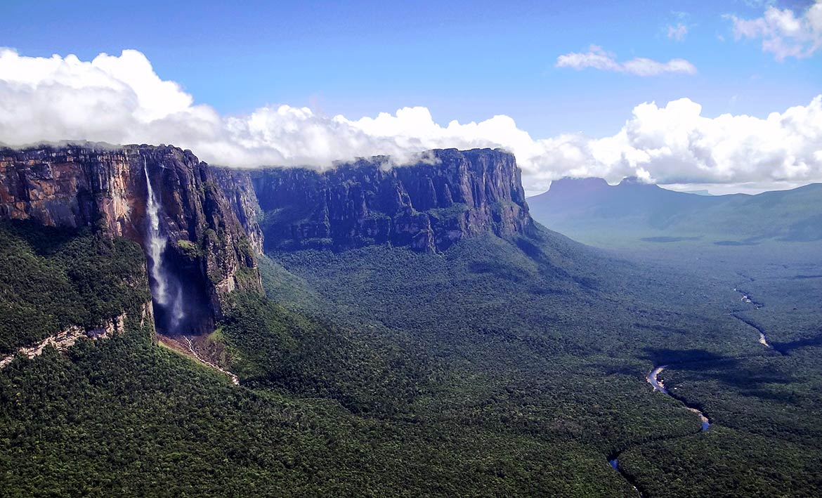 Churún Canyon and Angel Falls, Canaima National Park