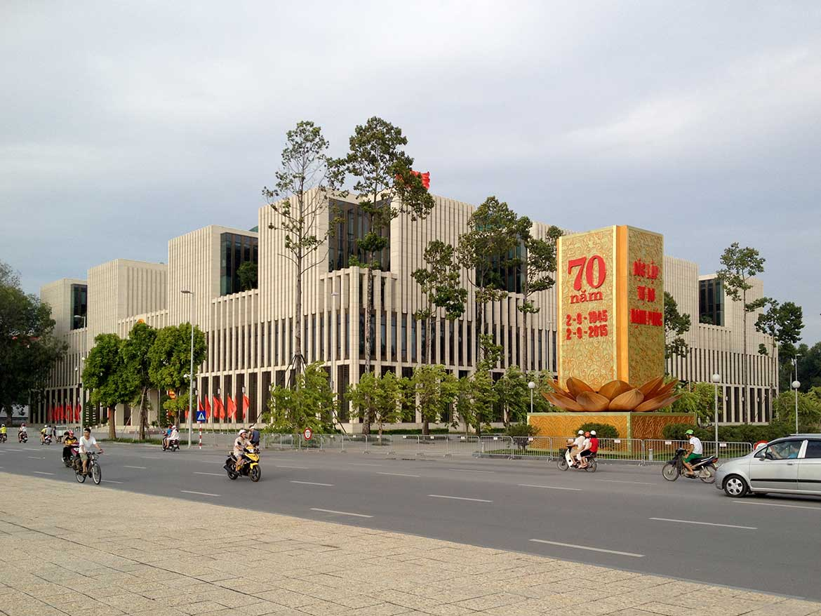 Vietnam's National Assembly in Hanoi, capital city of Vietnam