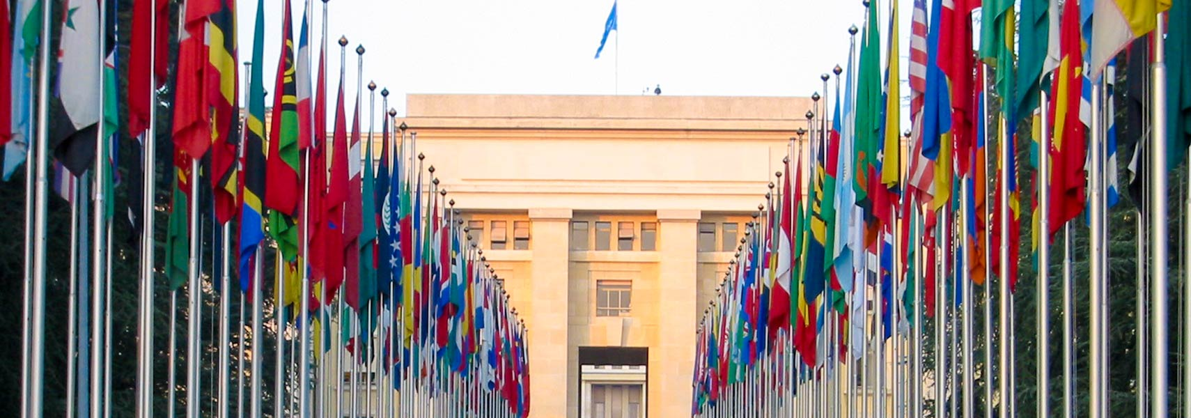 Flags of member states of the United Nations, United Nations Office, Geneva