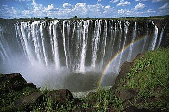 kart over afrika google Google Map of Victoria Falls, Zambia and Zimbabwe   Nations Online  kart over afrika google