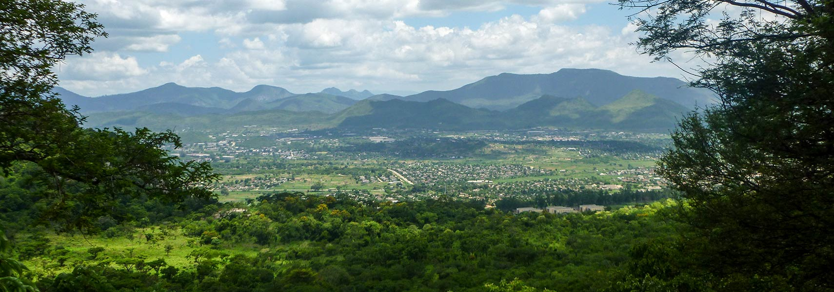 Mutare Area seen from Christmas Pass