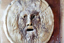 Bocca della Verità - The Mouth of the Truth.
