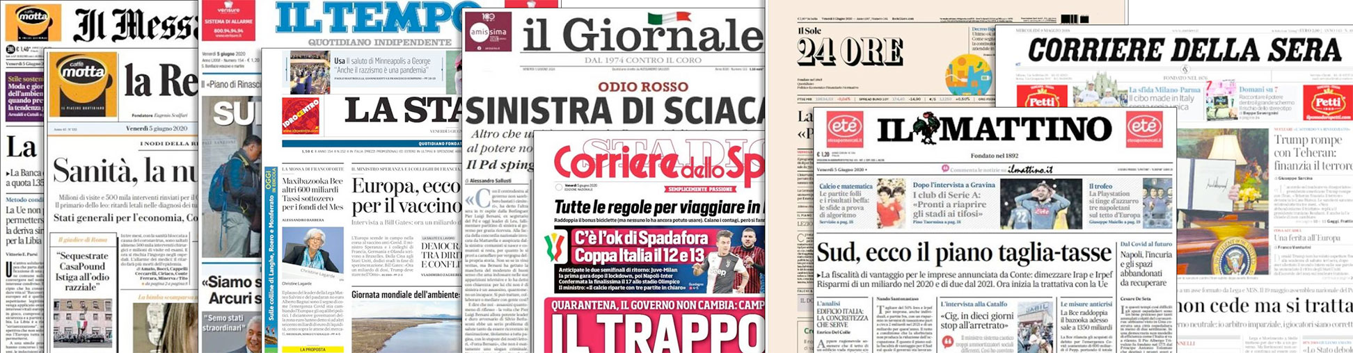 Italian Newspapers
