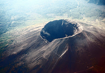 Satellite View And Map Of Mount Vesuvius Naples Italy Nations - Mount vesuvius map