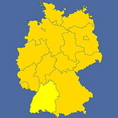 where in Germany is Baden-Württemberg?