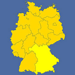 where in Germany is Bavaria?