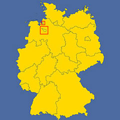 Map Of Bremen Germany.Bremen Profile Of The German Federal State Nations Online Project