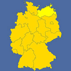 where in Germany is Mecklenburg-Western Pomerania?