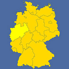 where in Germany is Nordrhein-Westfalen?