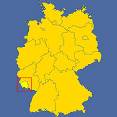 where in Germany is Saarland?