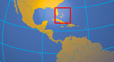 Location map of the Bahamas. Where in the world are the Bahamas?