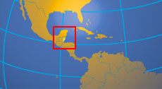 Location map of Belize. Where in Central America is Belize?