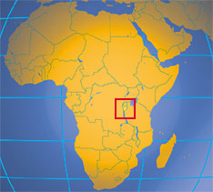 Where in Africa is Burundi?