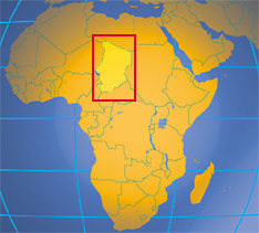 Chad - Tchad - Country Profile - Nations Online Project Chad Africa Map on