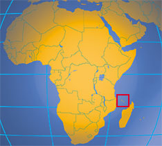 location map of the comoros where in africa are the comoros