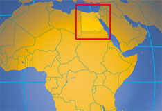 Egypt country profile nations online project location map of egypt where in the world is egypt gumiabroncs Images