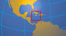 Location map of Jamaica. Where in the Caribbean is Jamaica?