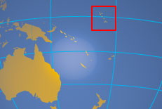 Kiribati - Gilbert Islands - Micronesia - on kiribati pacific island map, south pacific islands world map, islands of kiribati map, marshall islands map, tuvalu world map,