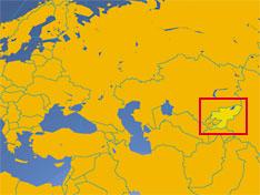 Kyrgyzstan Country Profile - Kyrgyzstan map