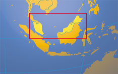 Location map of Malaysia. Where in the world is Malaysia?