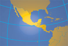 Location map of Mexico. Where in the world is Mexico?
