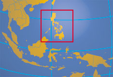 Location Map Of Philippines Where In Asia Are The