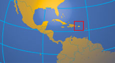 Location map of Puerto Rico. Where in the world is Puerto Rico?