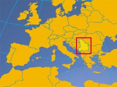 Montenegro On Europe Map.Serbia And Montenegro State Union Of Serbia And Montenegro
