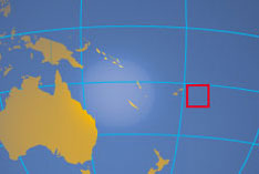 Location map of Tonga. Where in the Oceania is the Kingdom of Tonga