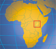 uganda location in africa map Uganda Country Profile Nations Online Project uganda location in africa map
