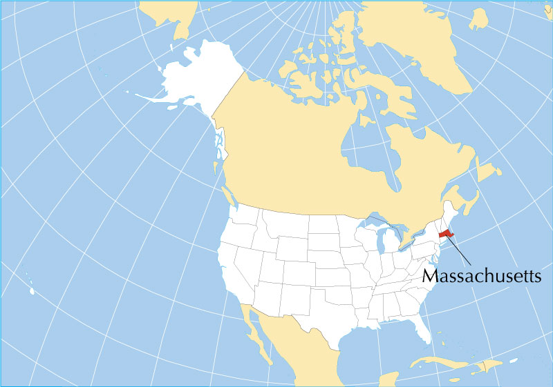 Reference Map of Massachusetts USA Nations Online Project