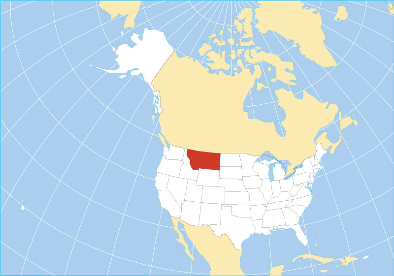 Reference Maps of Montana, USA - Nations Online Project