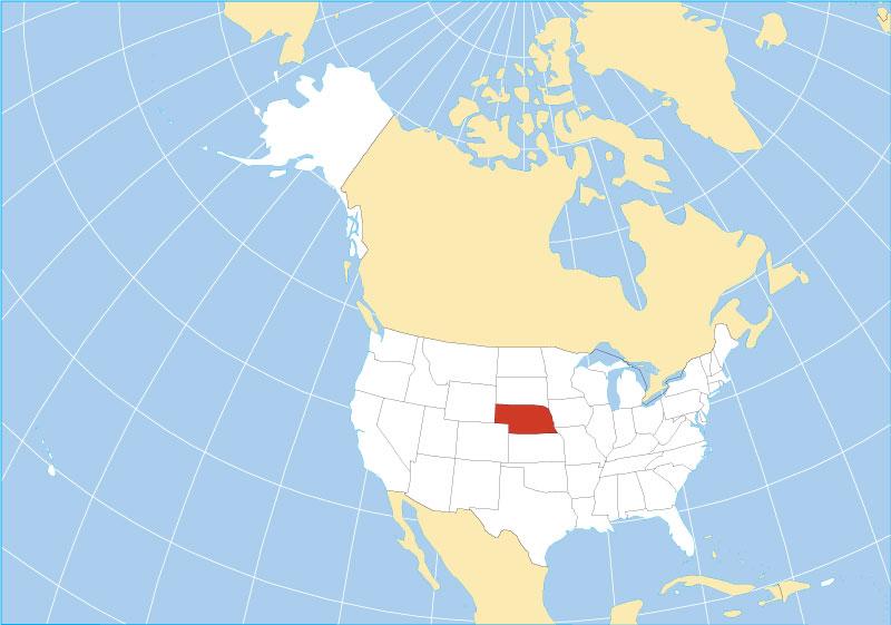 Reference Maps of Nebraska USA Nations Online Project