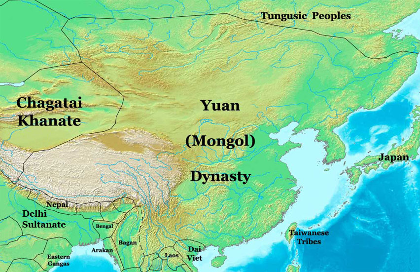 www.nationsonline.org/maps/chinese_dynasty_maps/Yu... Yuan Dynasty Map on mongol invasion of china, yi dynasty map, yuan empire, aztec map, mongol invasions of korea, mongol conquest of the song dynasty, delhi sultanate map, ming dynasty map, china map, yin dynasty map, ch'ing dynasty map, chagatai khanate map, qin dynasty map, trần thủ �ộ, mongol invasions of japan, battle of baghdad, mongol invasion of poland, capetian dynasty map, shang dynasty map, jin dynasty map, tang dynasty map, sui dynasty map, ch'in dynasty map, goryeo map, nestorian christians map, mongol invasion of europe, battle of mohi, mongol invasion of java, mongol conquests, mongol invasions of india, kingdom of albania map, qing dynasty, chen dynasty map,