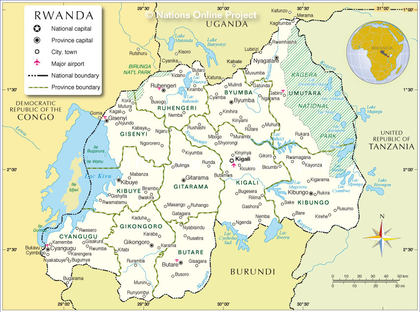 Administrative map of rwanda provinces until 2006 nations online administrative map of rwanda gumiabroncs Images