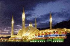 Islamabad - Faisal Mosque, Pakistan