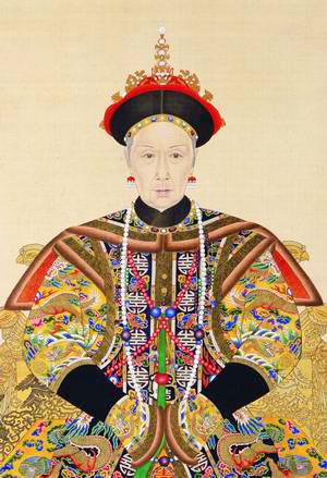 Cixi S Official Portrait