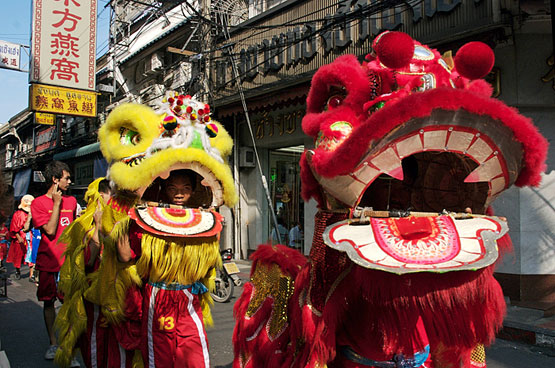 Lion Dance Chinese Customs